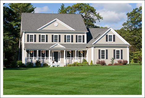 Green grass manicured lawn||||