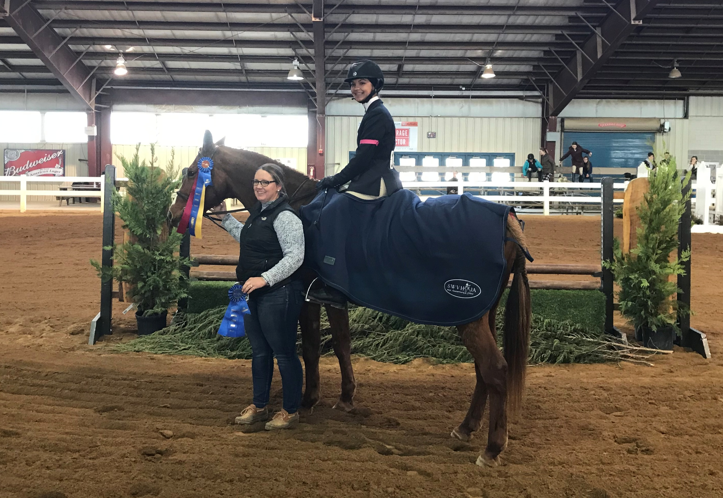 Intermediate Hunter Champion: Shiver Me Timber Owner: Lexie Paxton Rider: Kriston Parr