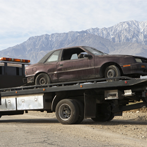 Junk Car Towing