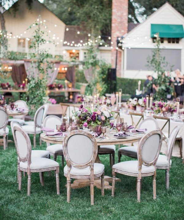 Backyard Garden Wedding