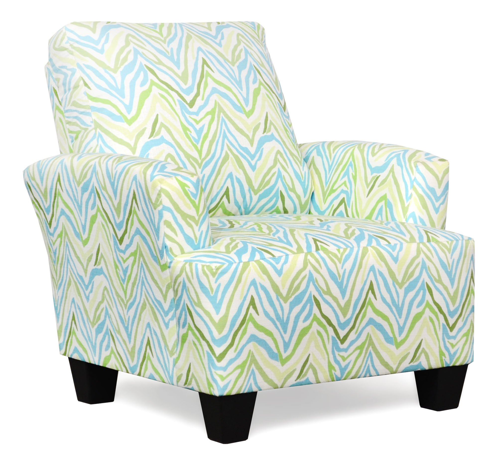 545 Madison Turquoise Accent Chair