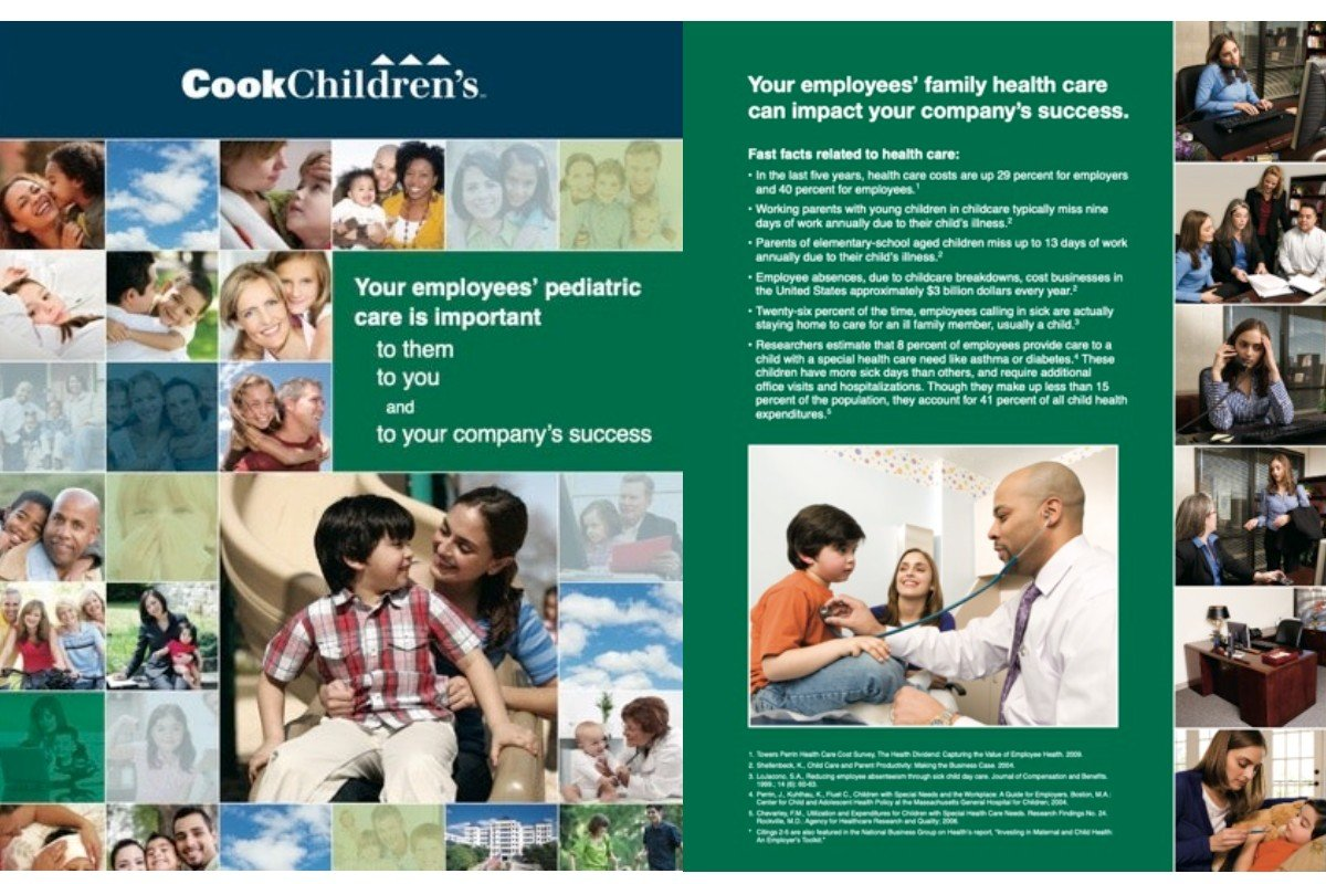 Cook Children's Emploam yer Relations Marketing -   Strategy and Content
