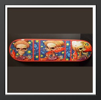 Painted Skateboards