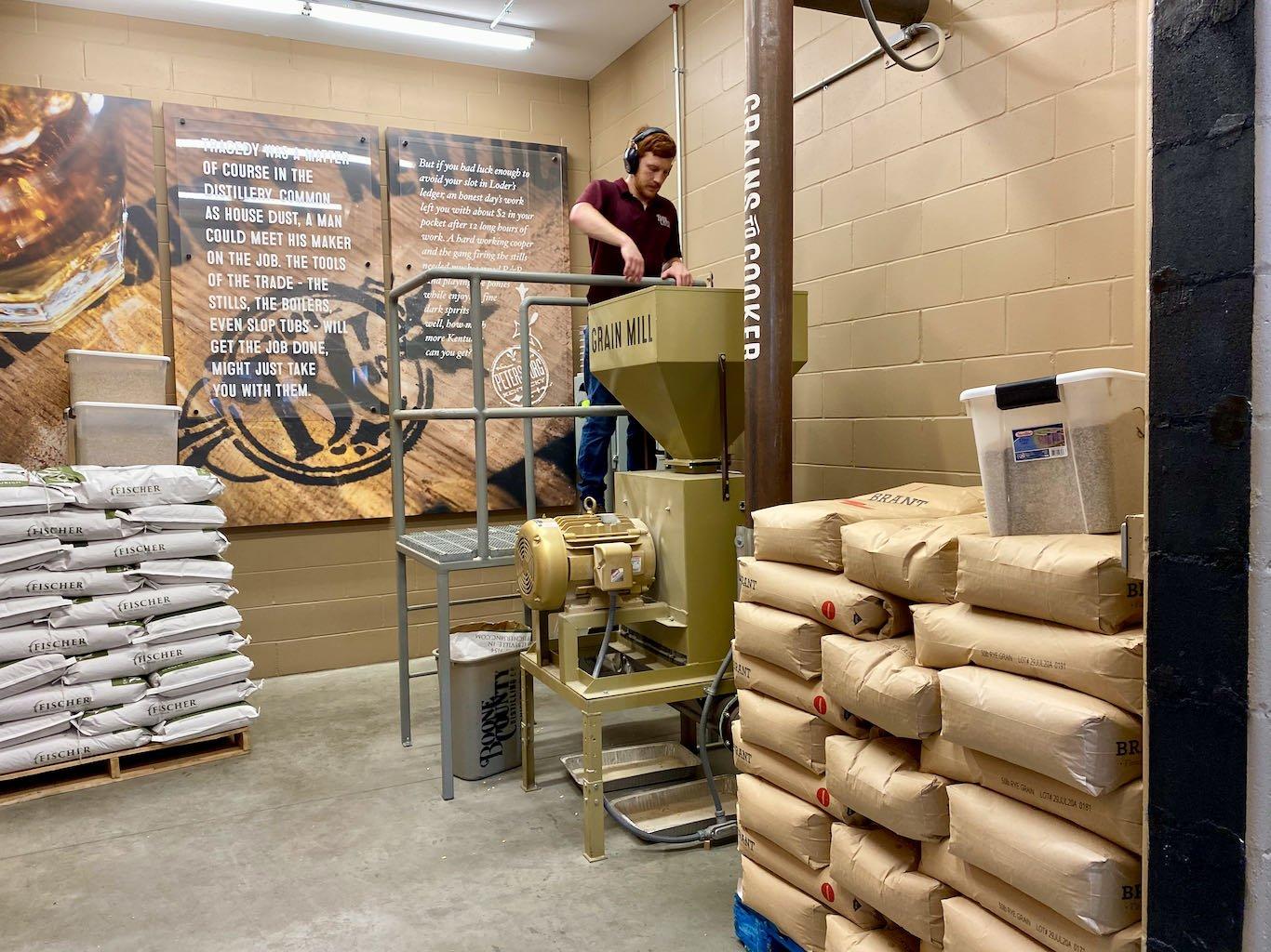 Grain Mill -Boone County Distilling Company