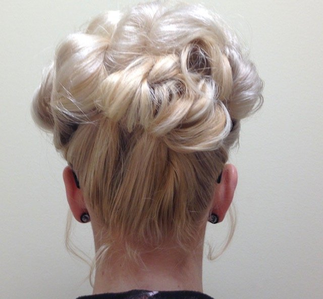 Woman With Updo 3
