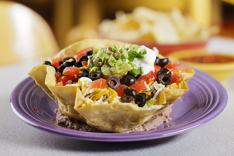 Full taco salad