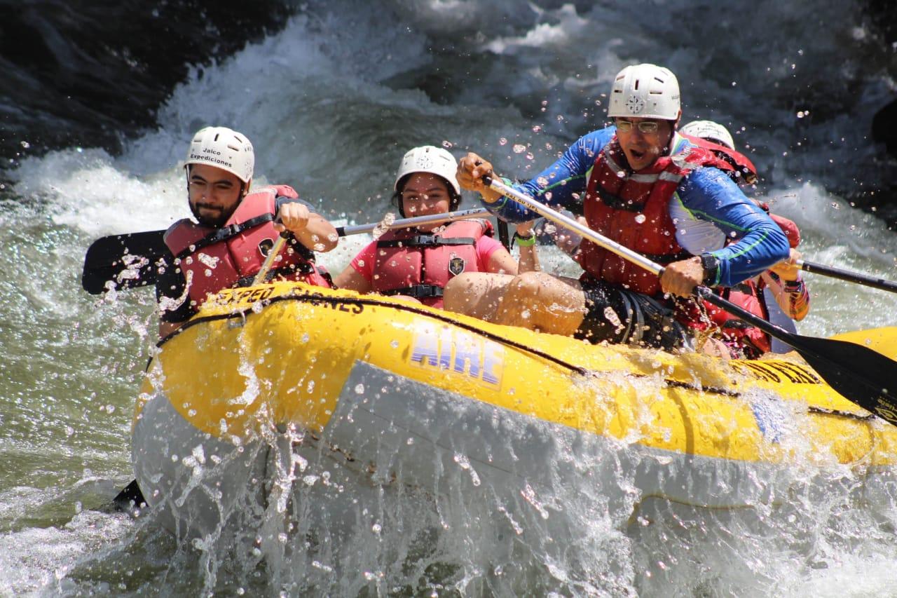 Rafting de clase mundial!