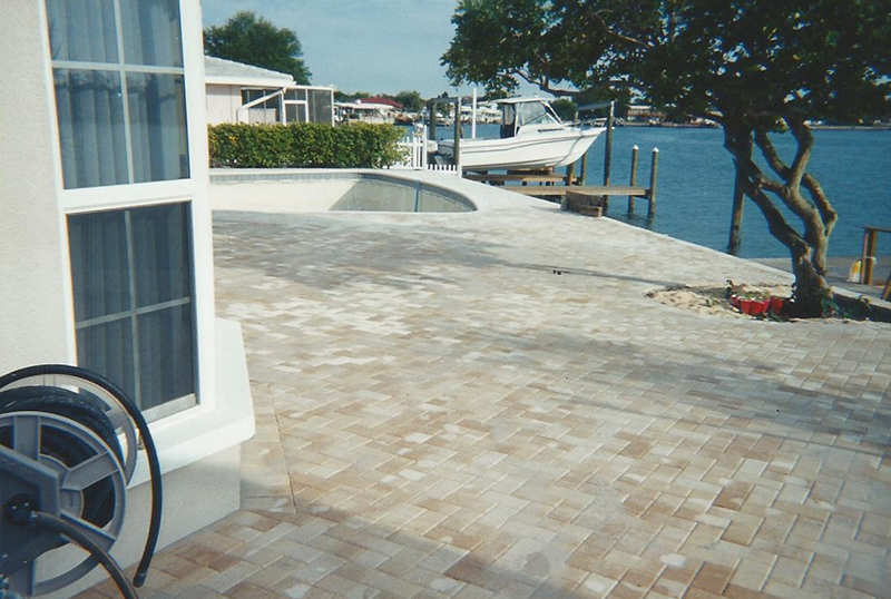 Pool resurfacing project