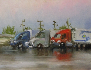 51. Trucks, I-81 Exit 205 Trukstop, 6x8 oap