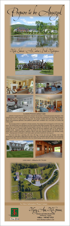 Western Loudoun New Listing||||