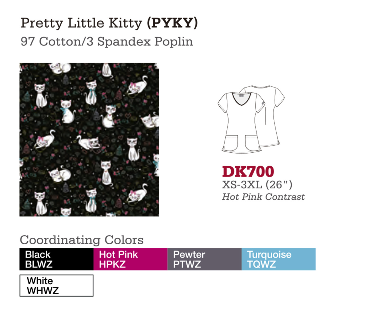 Pretty Little Kitty. DK700.