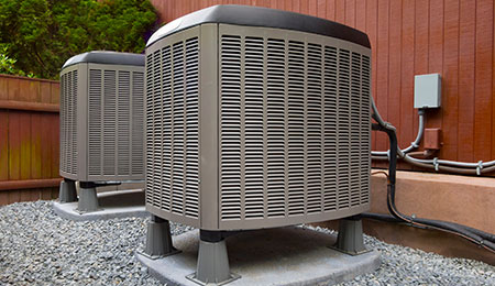 HVAC heating and air conditioning residential units