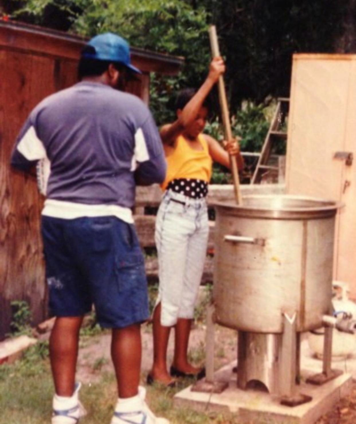 KiKi's very first Kountry Boil in Palatka, Florida