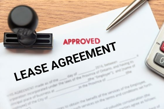 Approved Lease Agreement Document