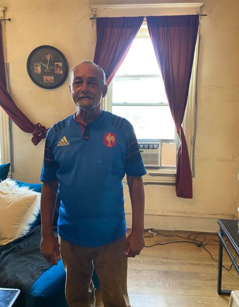 John was so excited when we scheduled him for an appointment to install an AC unit in his apartment this Friday morning. Being in his 70's with a bad back makes it more difficult to get around and being on the 2nd floor does not help when it is so warm. We're so happy to help him keep safe and cool in this 90 degree weather!