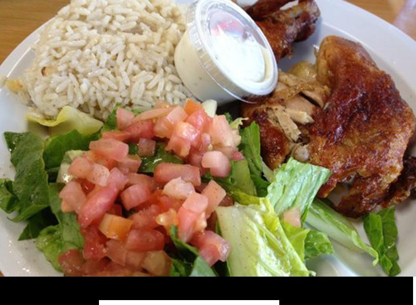 Dish of chicken maison||||
