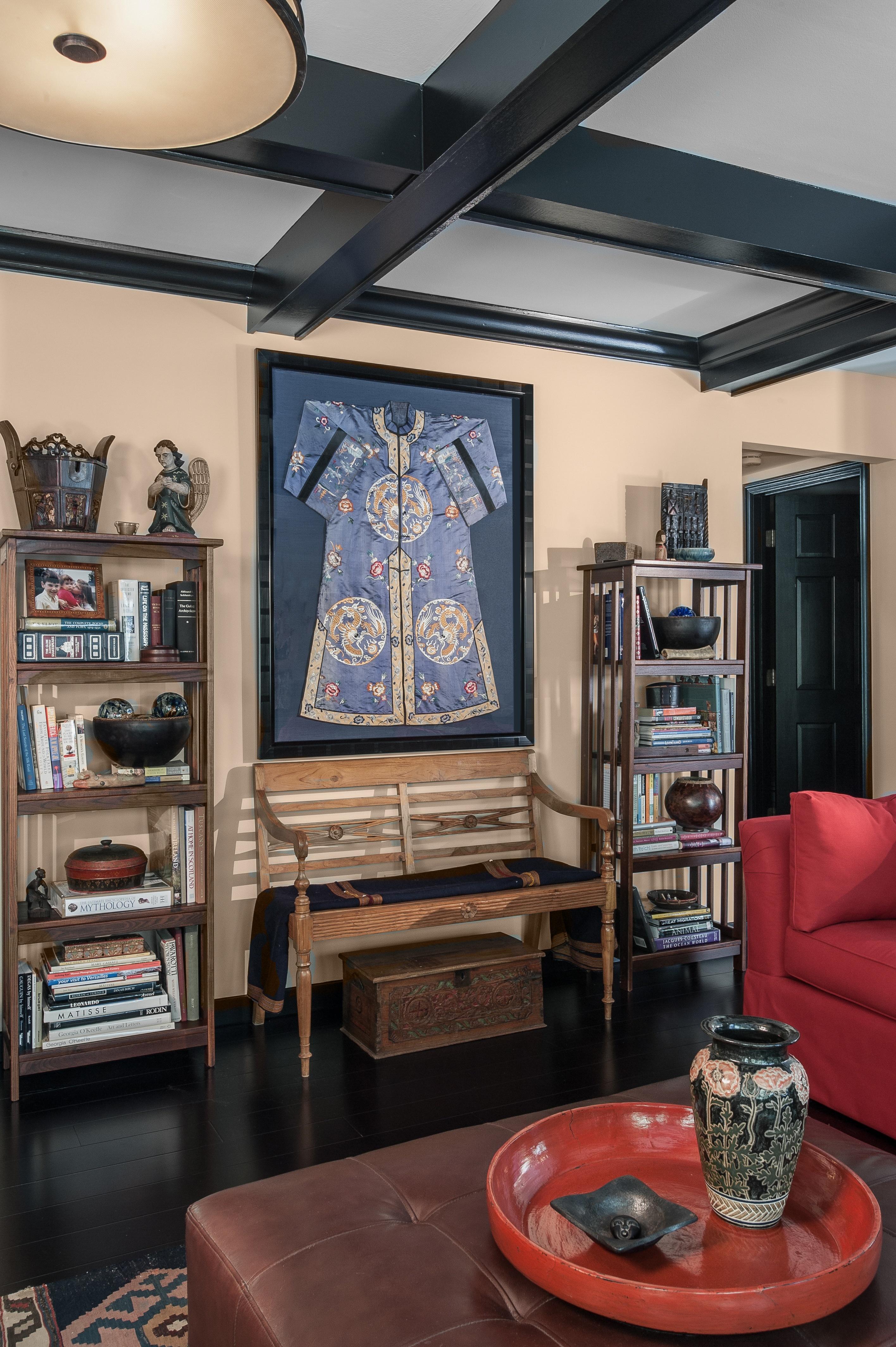 Travel Inspired Family Room