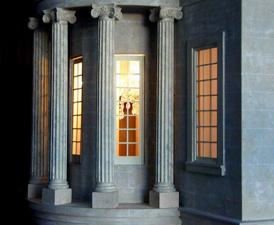 Columns by Night