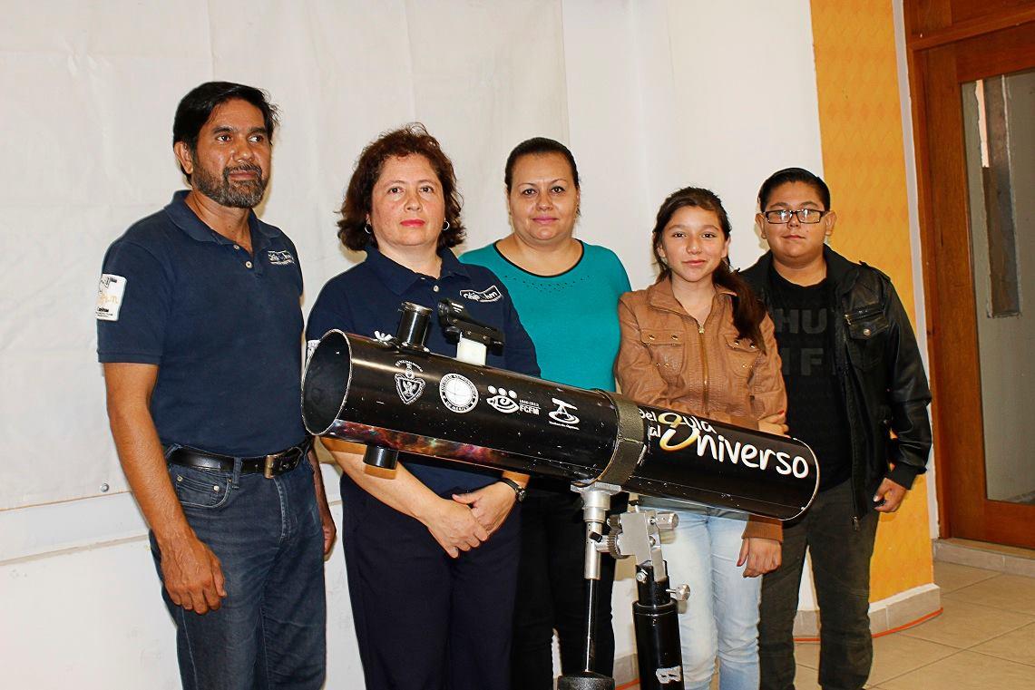 Programa de astronomía para la secundaria Jaime Nuno