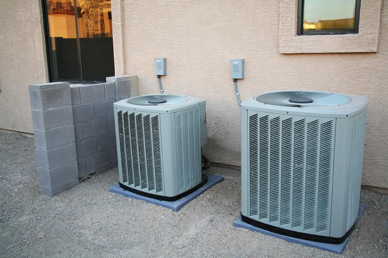 A couple of brand new air conditioners