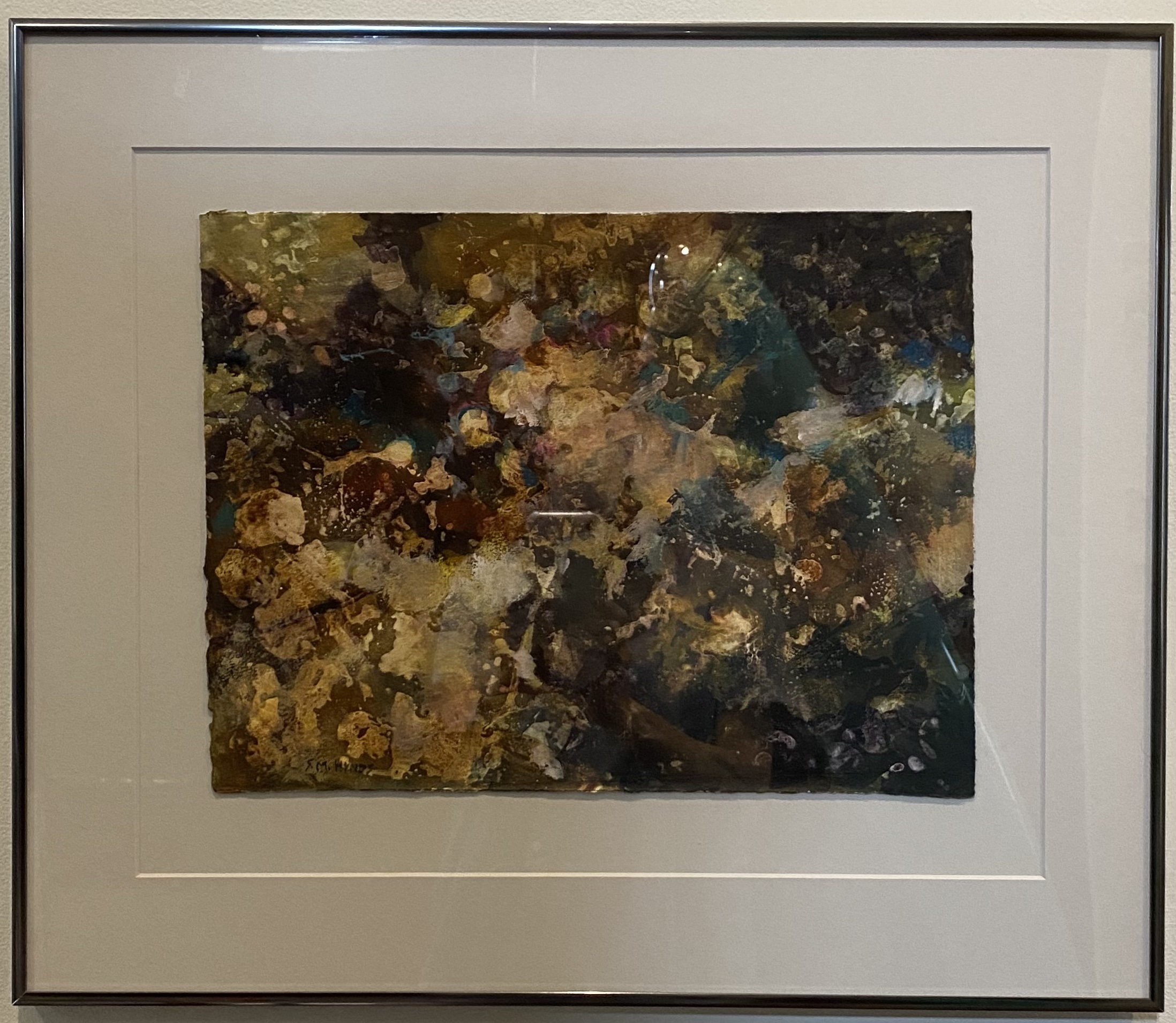 """Above & Beyond Watercolor 15"""" X 11.5"""" $300."""