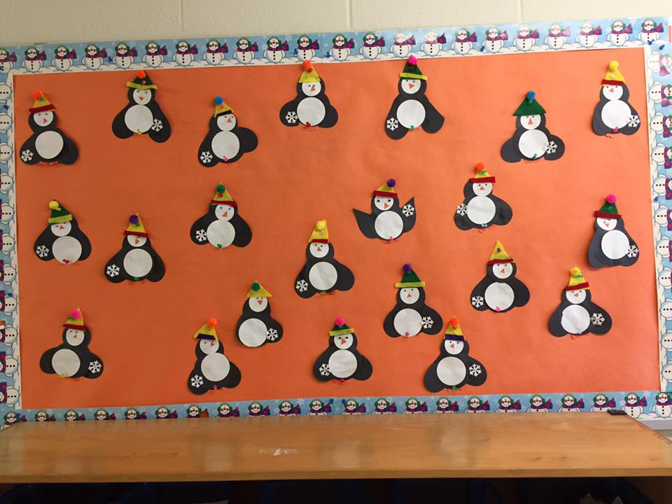 The 3's made PENGUINS!