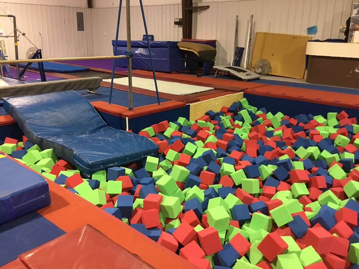 Inflatables for Gymnastics