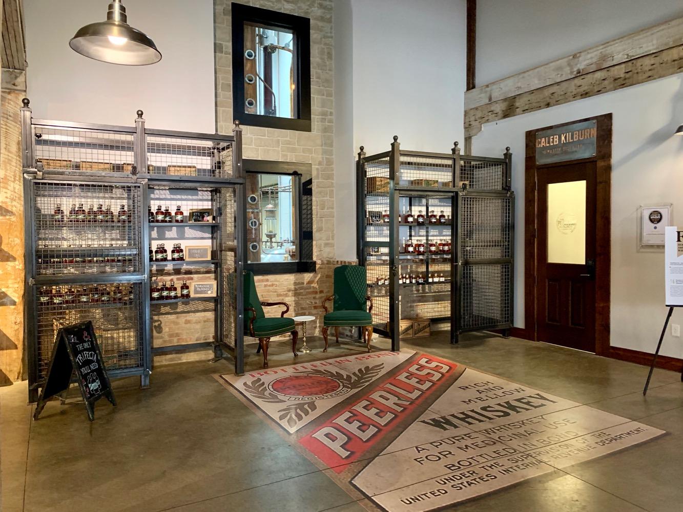 Kentucky Peerless Distilling Gift Shop