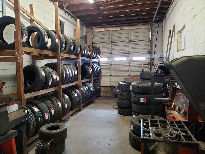 Tire Stockroom