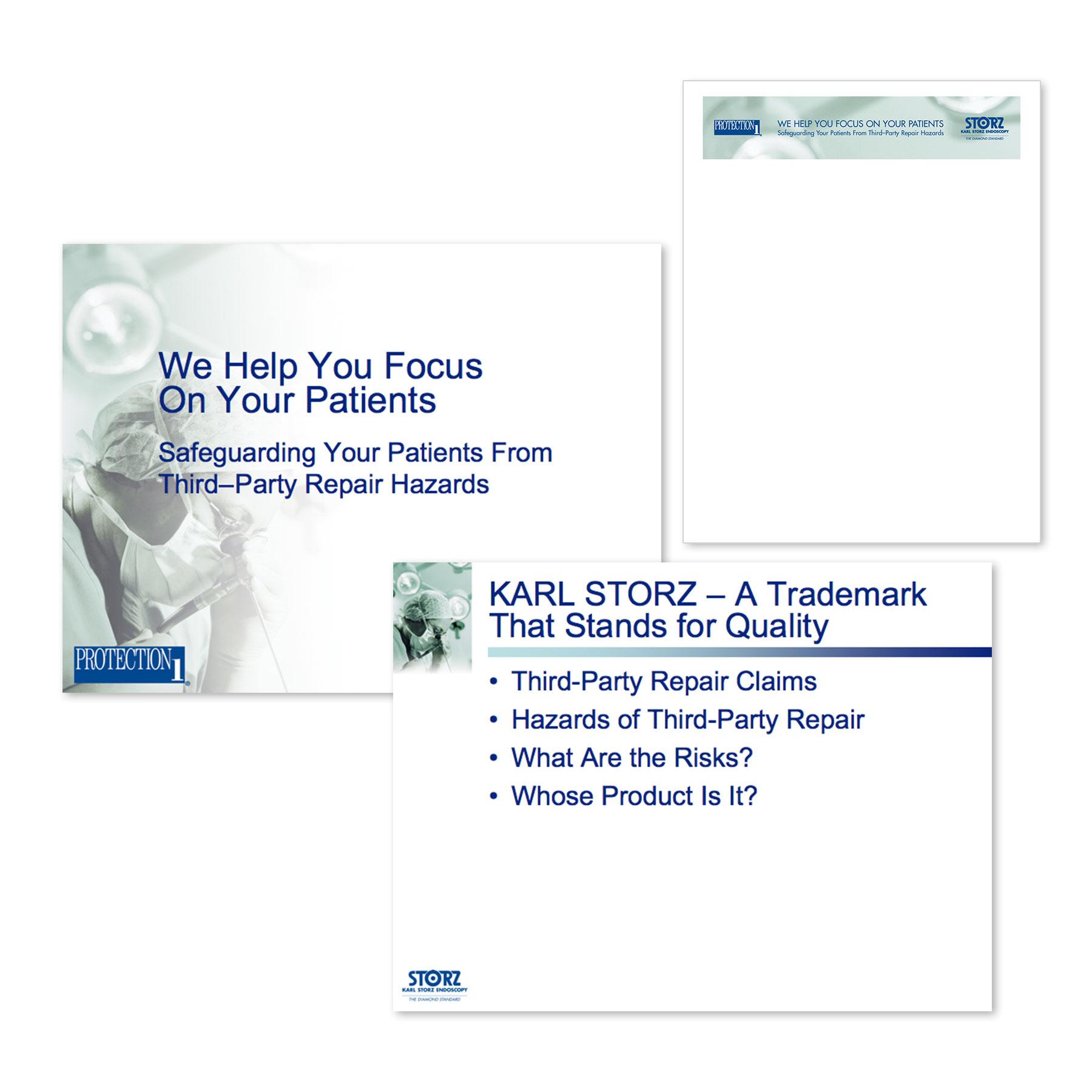 Karl Storz Protection 1 PowerPoint Presentaion & Letterhead