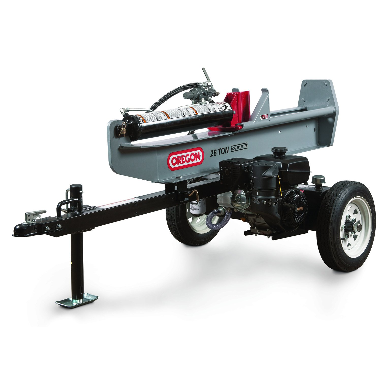 Log Splitter 28 ton (hori/vert) $50/half $75/day