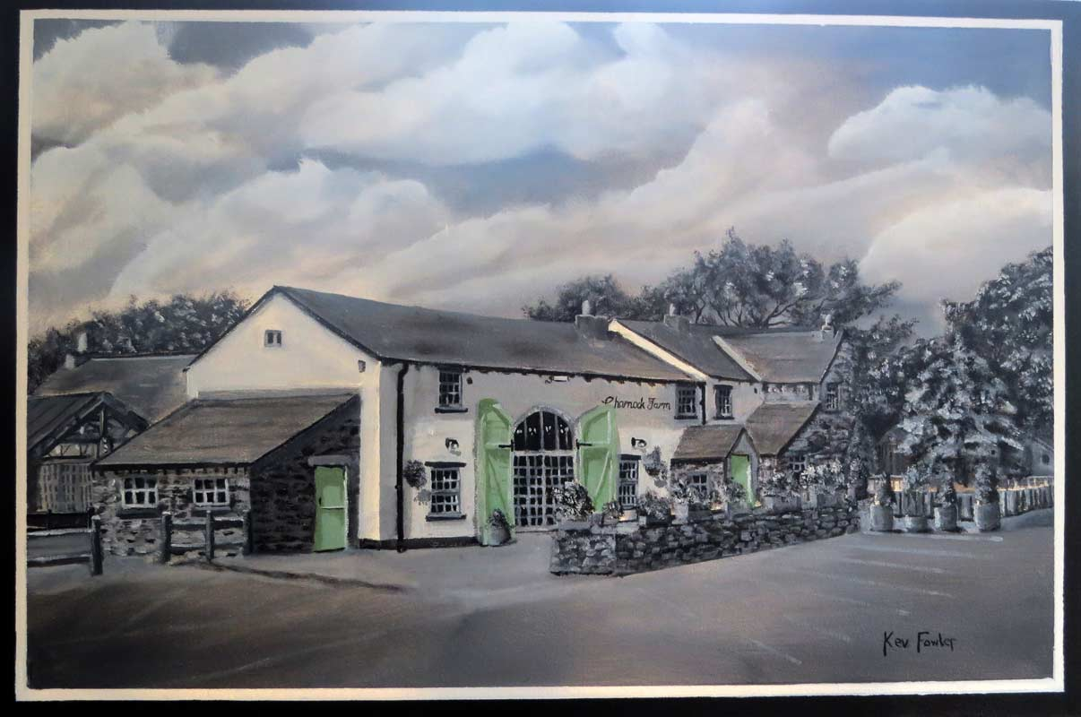 Charnock Farm - Wedding Commission SOLD