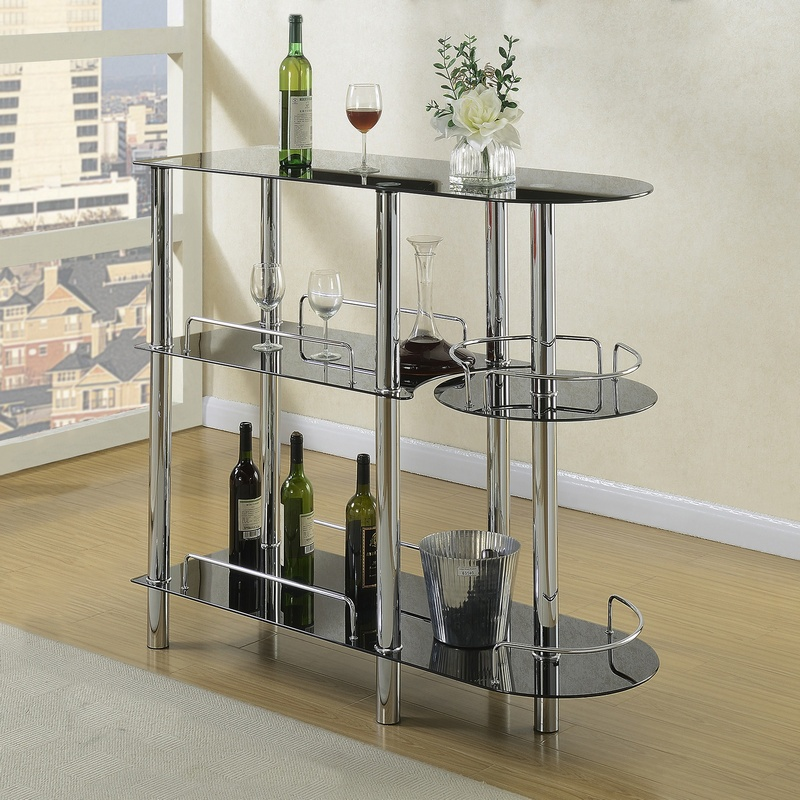 Glass Bar (Also Available in Black)