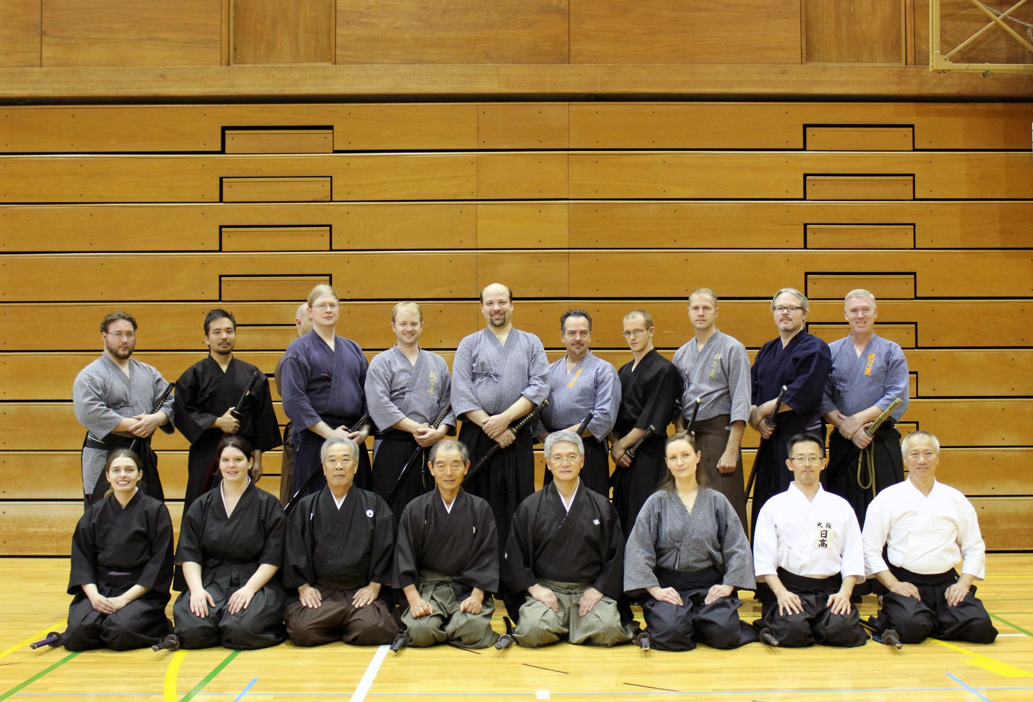 Pre-taikai training group photo.