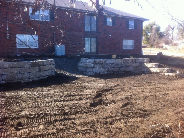 Structural Retaining Wall 3