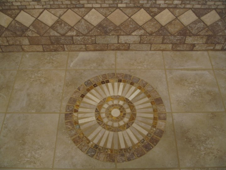 Shower Entry Tile