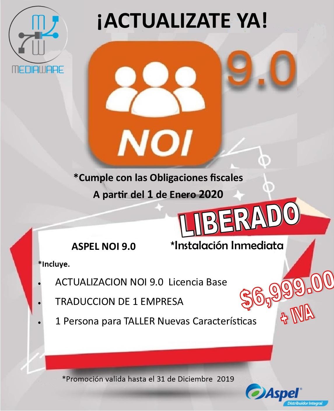 NOI 9.0 Actualiza