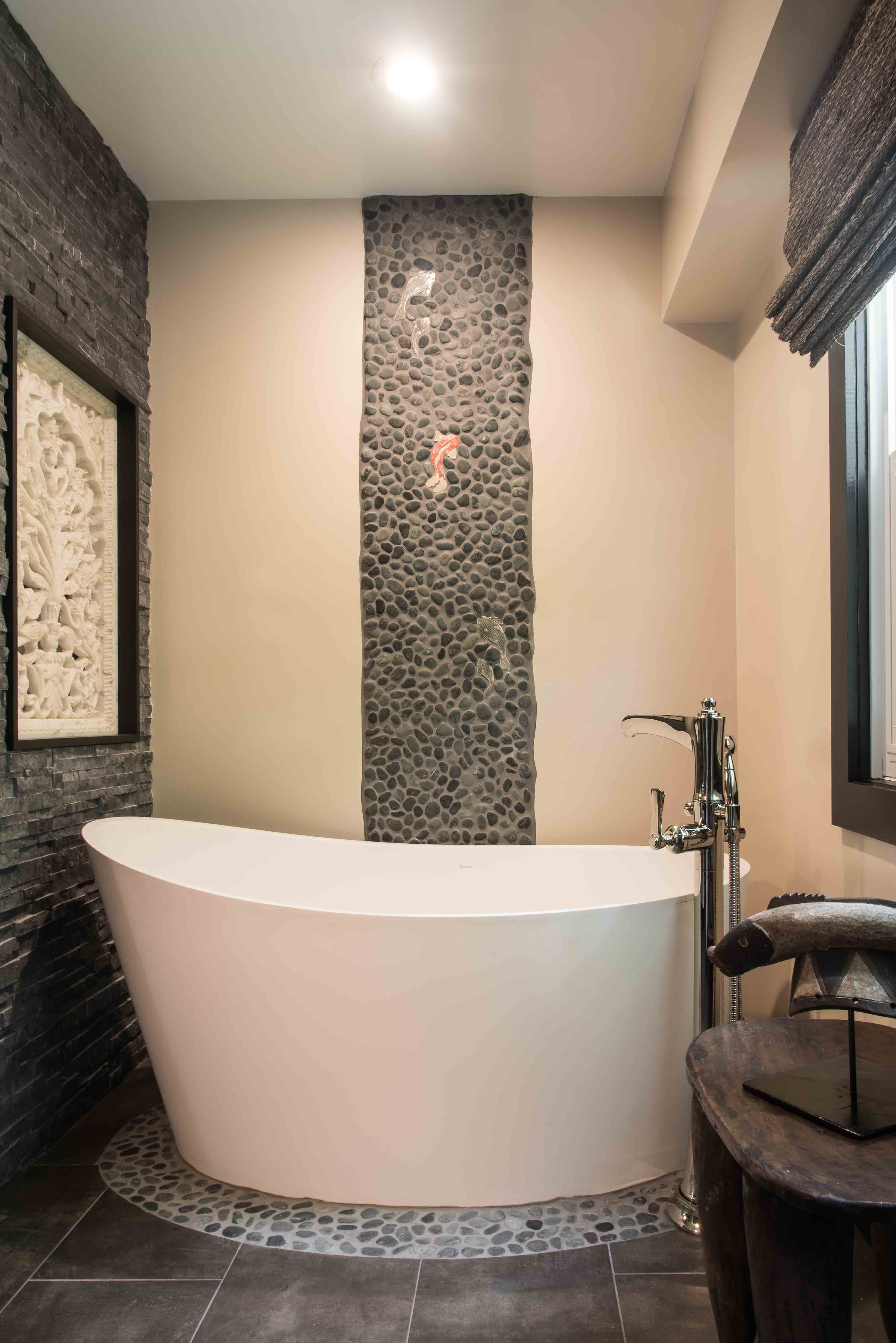 Asian Inspired Bath Remodel
