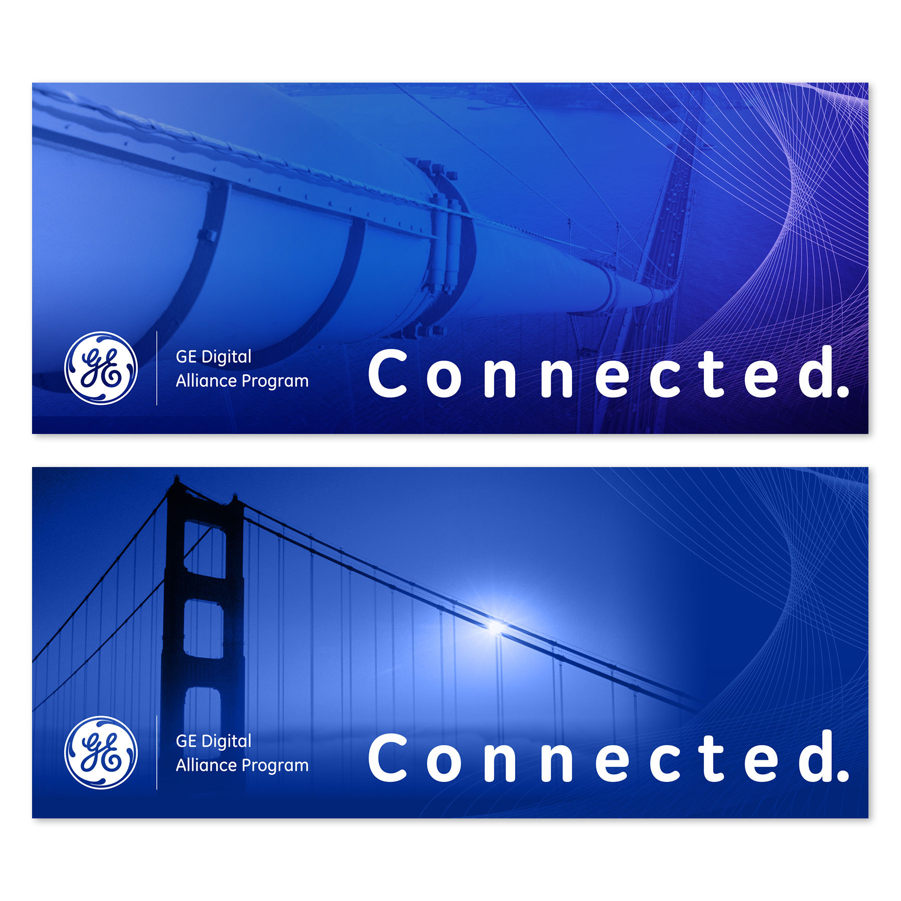 General Electric Connected Banners