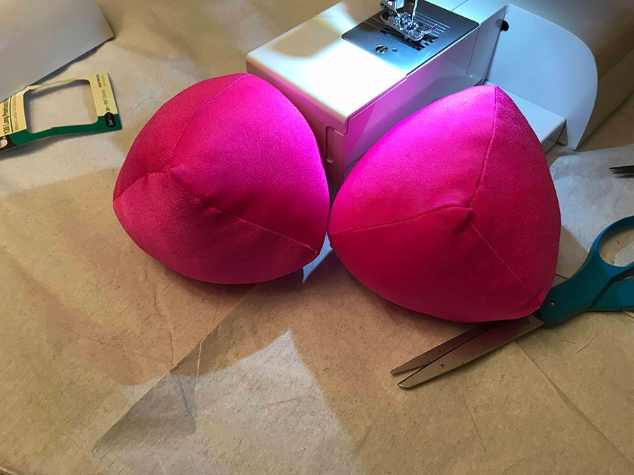 Pink Cozy Breast