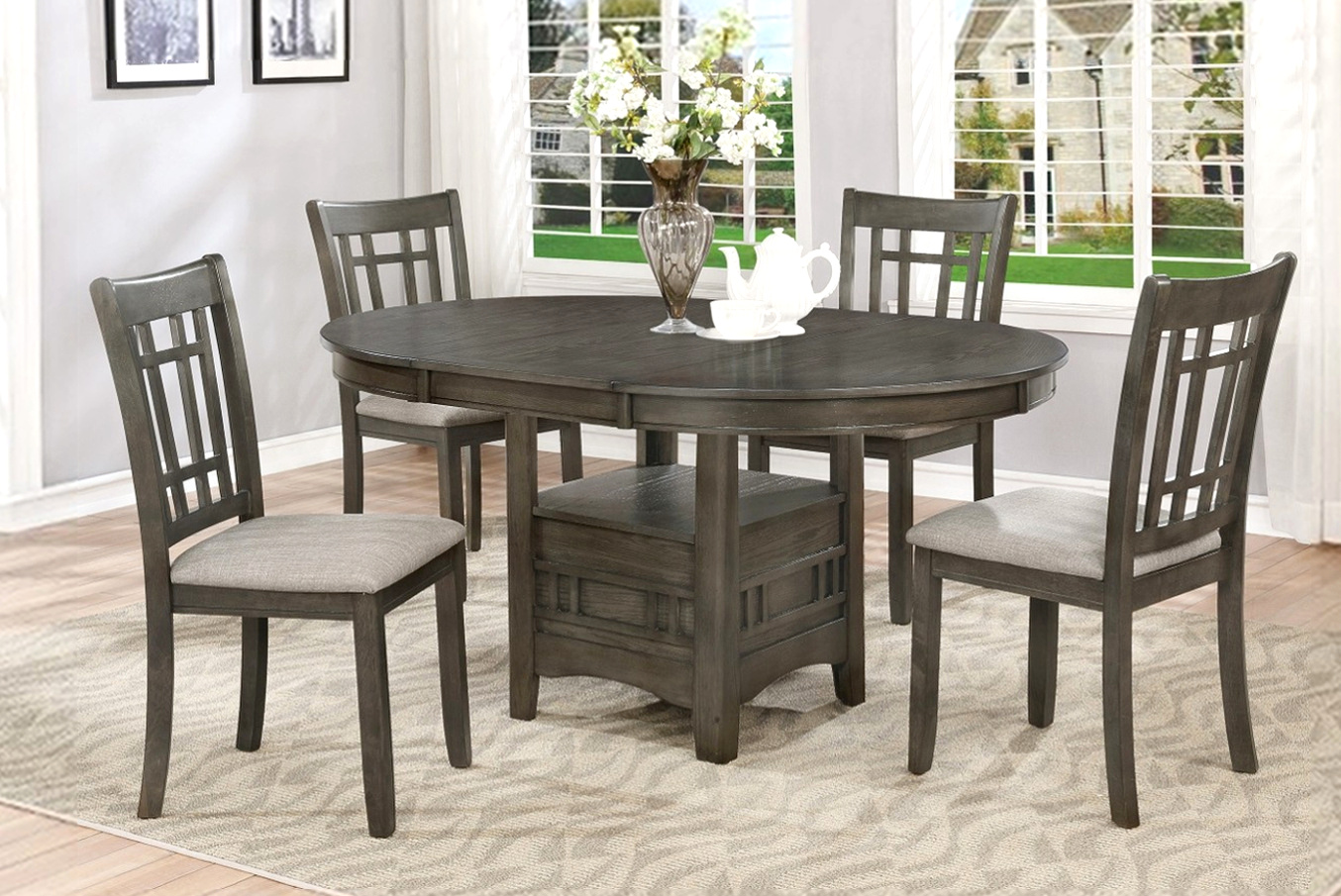 2195GY Dining Set