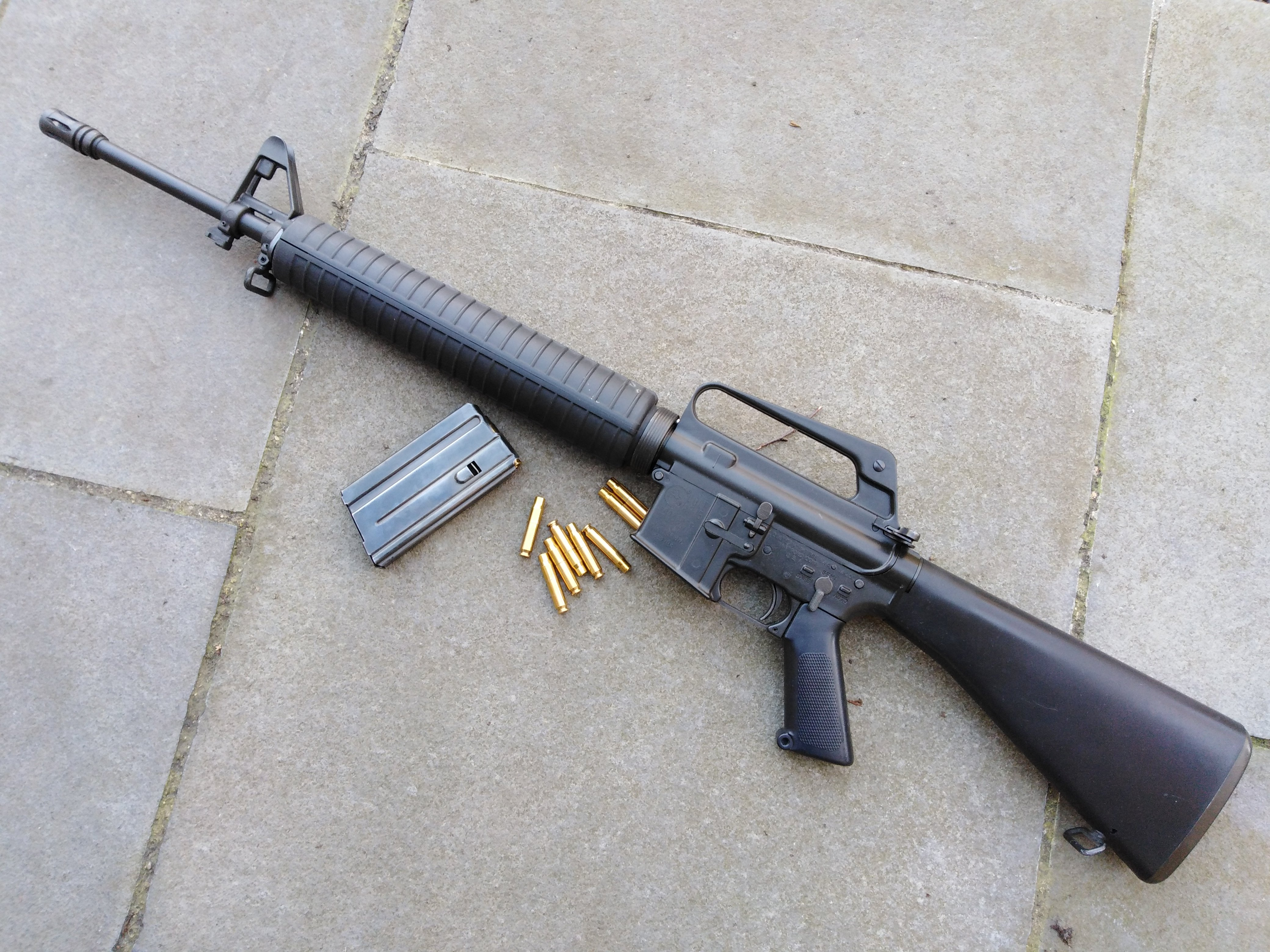 MGC M16A1 with A2 Handguards