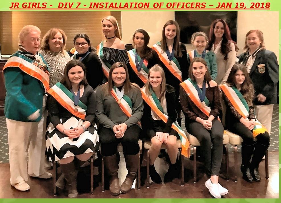Jr Girls-Officers-2018