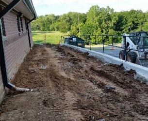 Concrete Pathway Construction