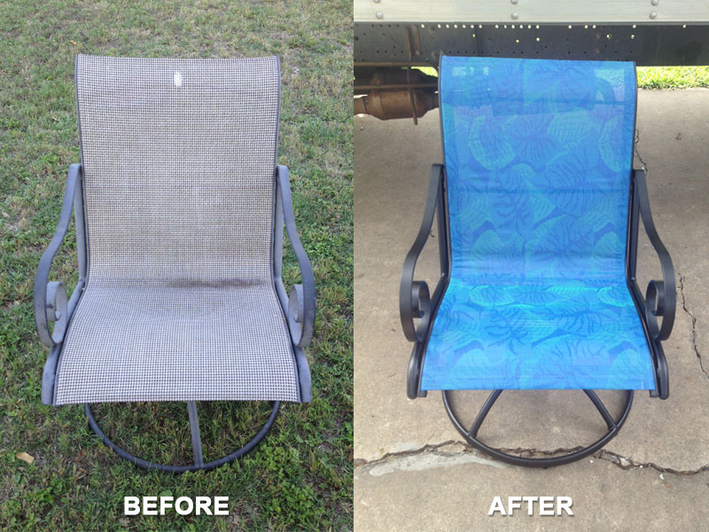 San Antonio Patio Furniture Ace Outdoor Restoration Austin And San Antonio  Tx Slings And