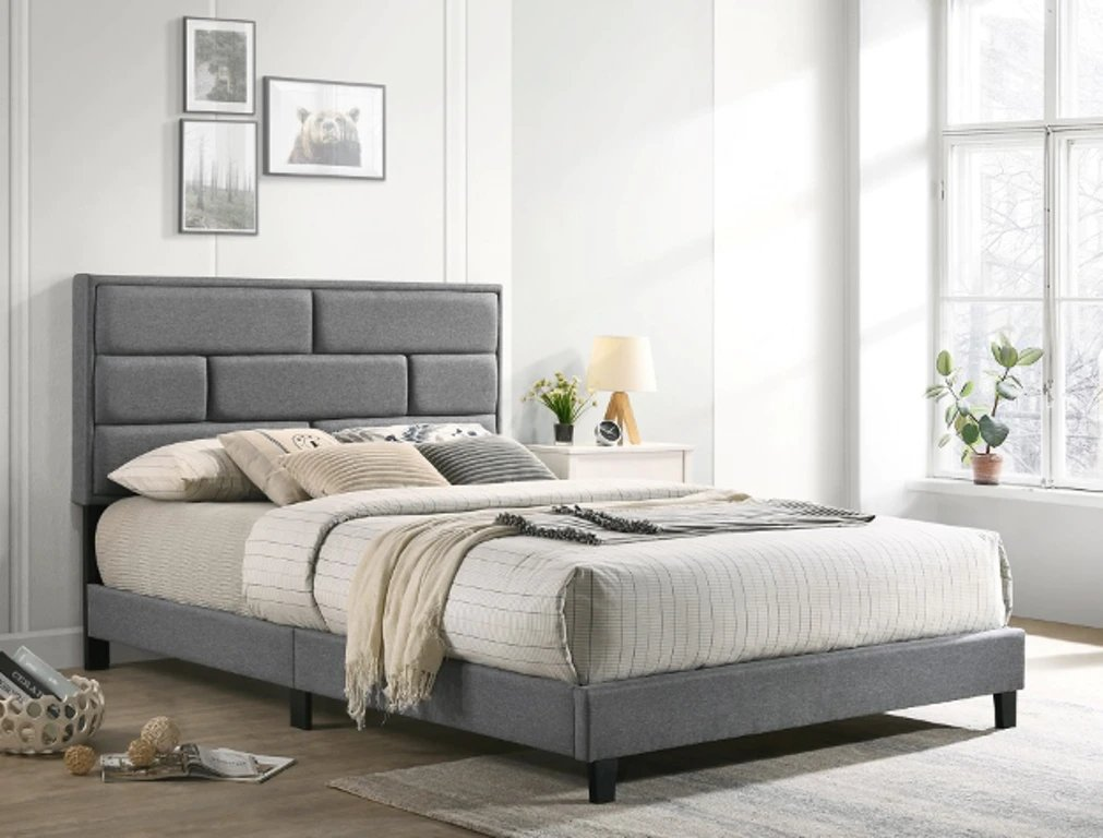 5137GY Flannery Platform Bed