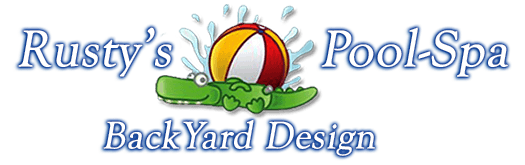 North & South Carolina Pool & Spa | Rusty's Pool-Spa Back Yard Design