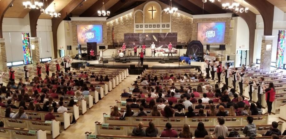 Concert in a Mega Church