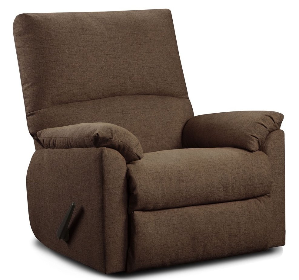 7560-122 Chocolate Recliner