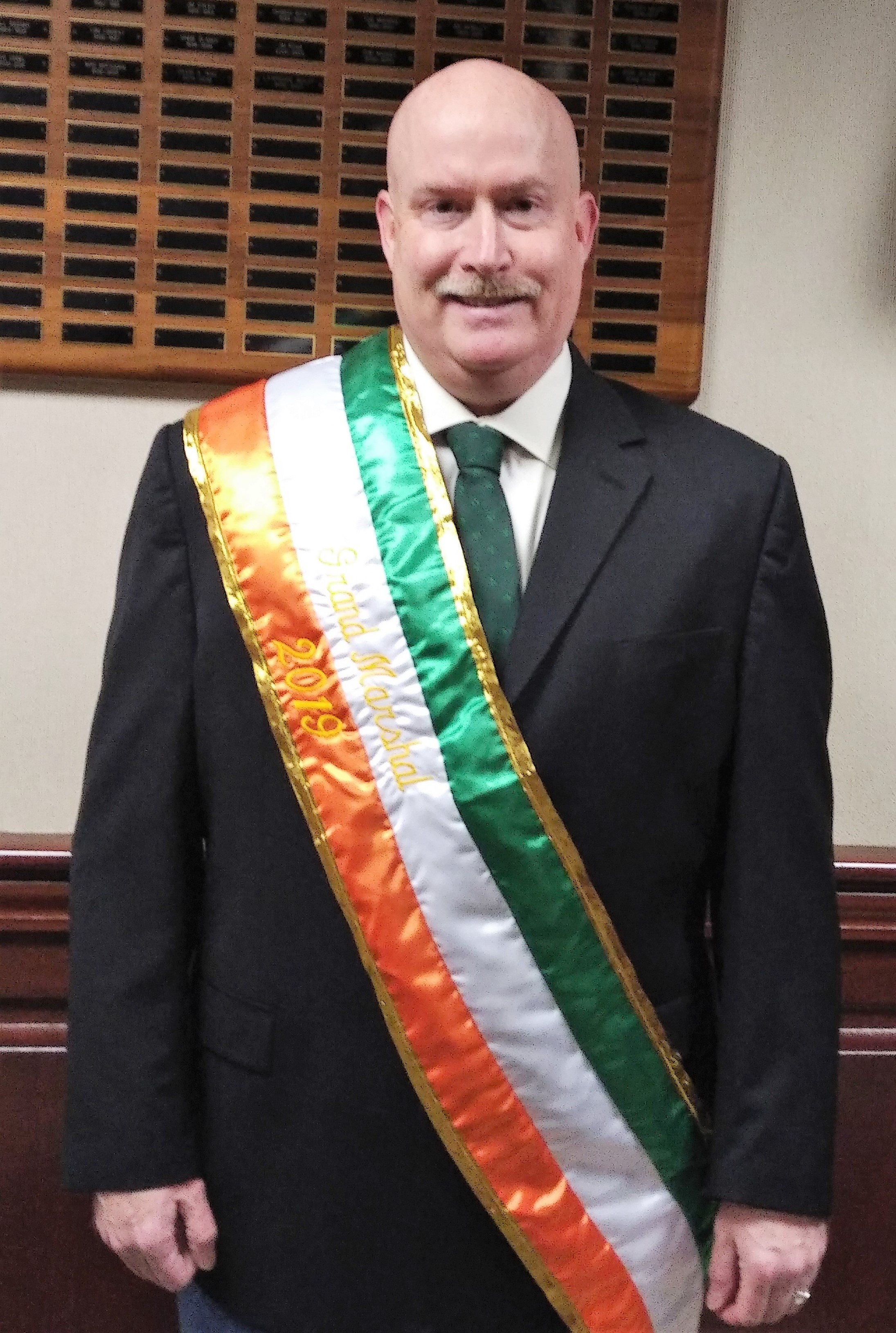 Jimmy O'Kane - 2019 Grand Marshal